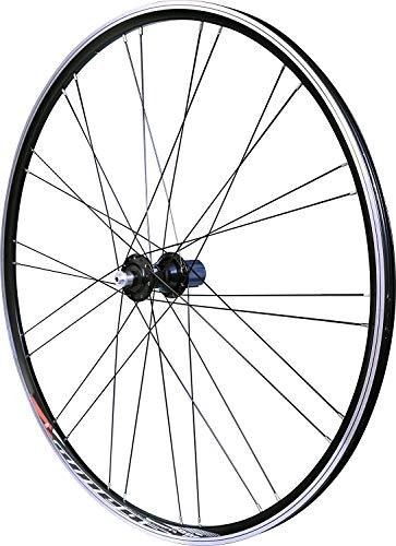 Velox Bicicleta de Carretera Mach1 contra 30 Ruedas Unisex, Color Negro, 700 C Trasera (Campagnolo)