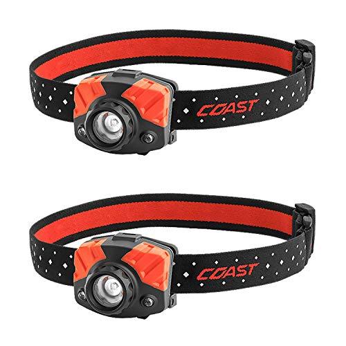 Coast FL72 405 Lumen Focusing LED Headlamp 2-Pack