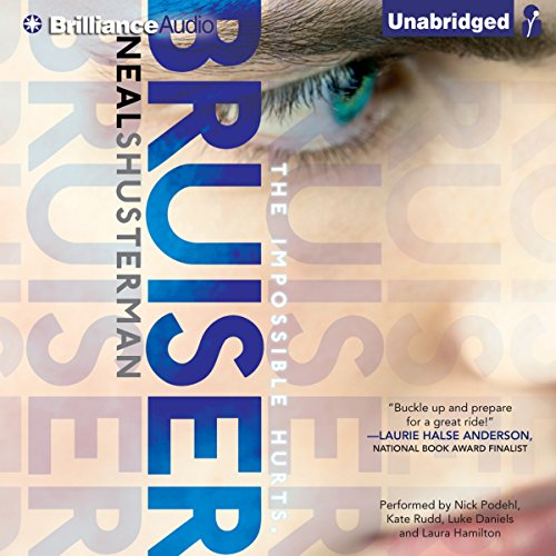 Bruiser audiobook cover art