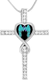 BlingDi Fashion Bike American Flag Design Heart Lucky Bracelet Jewelry