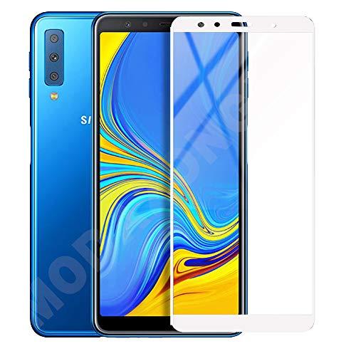 Galaxy A7 2018/2019/2020ガラスフィルム 強化ガラス液晶保護フィルム 硬度9H 3D Touch対応 高透過率 防爆裂 スクラッチ防止 気泡ゼロ 飛散防止処理保護フィルム