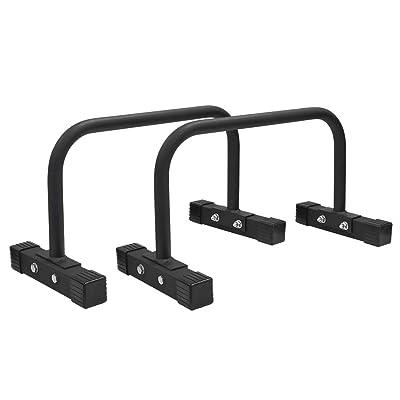 Signstek Steel Parallettes, Push-Up Bars Stands...