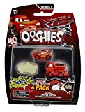 Bizak- Ooshies Cars pack de 4 figuras, Miscelanea (63246454) , color/modelo surtido