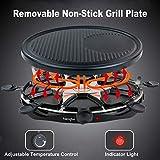 Zoom IMG-2 griglia elettrica raclette grill per