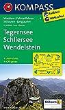 Tegernsee - Schliersee - Wendelstein: Wanderkarte mit Aktiv Guide, Radwegen, Skitouren und Loipen. GPS-genau. 1:50000 (KOMPASS-Wanderkarten, Band 8)