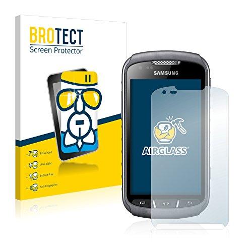 brotect Pellicola Protettiva Vetro Compatibile con Samsung Galaxy Xcover 2 S7710 Schermo Protezione, Estrema Durezza 9H, Anti-Impronte, AirGlass