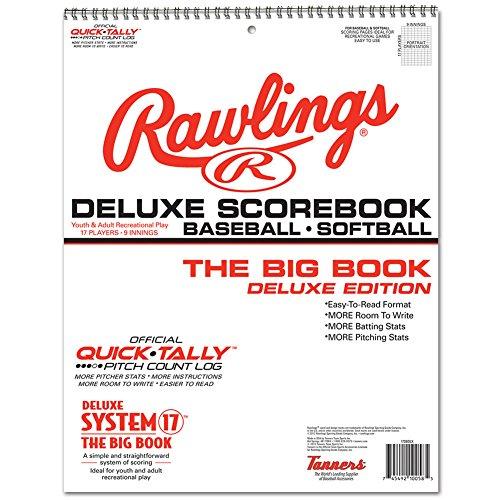 Rawlings Deluxe System-17 Baseball & Softball Scorebook