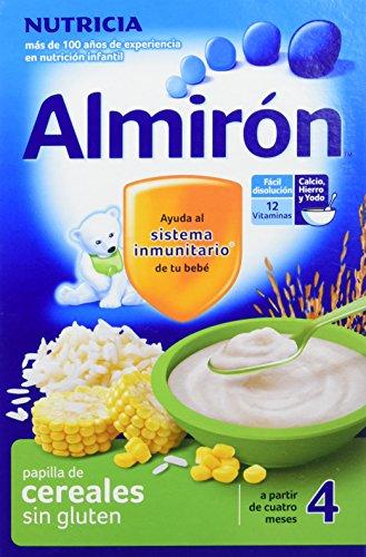 Almirón Papilla de cereales sin gluten a partir de 4 meses, 500 g