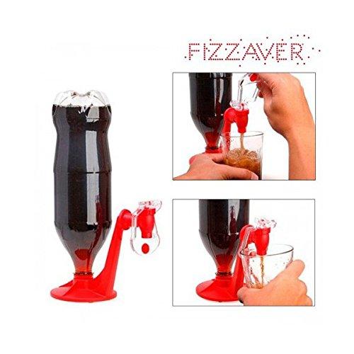 Eurowebb - Dispensador de bebidas (plástico, soporte automático para botellas)