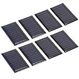 Panel de cargador solar portátil 8 unids 30ma 5 V paneles...