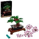 LEGO 10281 Creator Expert Botanical Bonsái Set de Construcción Manualidades para Adultos Colección Botánica