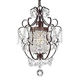 Image of Crystal Chandelier Lighting...: Bestviewsreviews