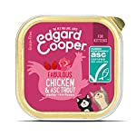 Edgard & Cooper Comida humeda Gatos Kitten sin Cereales, Natural con Pollo Fresco y Truchas con certificación ASC… 7