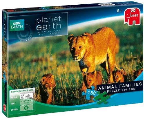 JUMBO Planète Terre – Animaux familles 150 pièces Puzzle