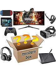 Kishan Bedding Mystery Box, Mystery Box Electronics, Mystery Boxes slumpmässig, födelsedag överraskning box, nyhet låda för vuxna överraskningspresent, till exempel surfplatta pc, glasögon, bluetooth hörlurar
