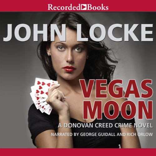 Vegas Moon audiobook cover art