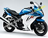 For GSX650F Katana GSXF 650 Blue white 08 09 10 11 12 13 GSX 650F GSXF650 2008 2009 2010 2011 2012 2013 Fairings
