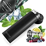Fruit/Tea INFUSER - Cold & Hot Water Bottle, BPA-free, Leak-Proof | Cooling Insulated