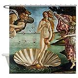 KUKUALE Geburt von Venus Dekorativer Stoff Duschvorhang 180x180cm (71x71in)