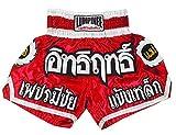 Lumpinee LUM-016 - Juego de pantalones cortos para Muay Thai o Kick Boxing Talla:large