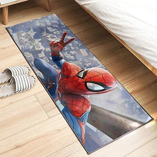 Tapis Anime Enfants Bande Dessinée 3D Spiderman Nordique Moderne Salon Décoration Tapis Chambre Garçon Fille Doux Tapis D