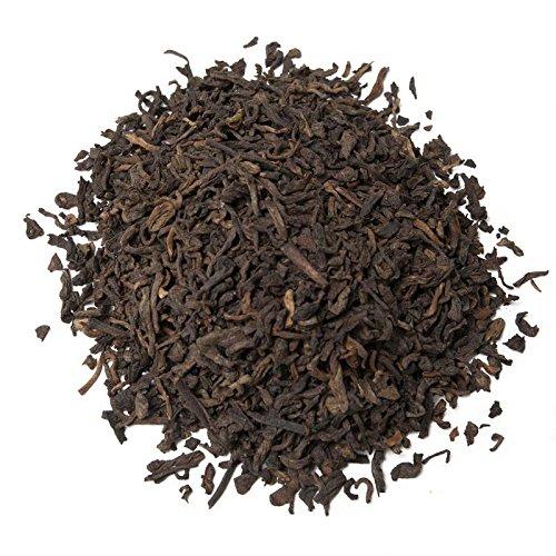 Aromas de Té - Té Rojo Pu Erh Frutas del Bosque a Granel Frutos Rojos con Trozos de Fresa y Moras, 100 gr