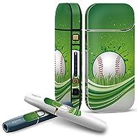 IQOS 2.4 plus 専用スキンシール COMPLETE アイコス 全面セット サイド ボタン デコ スポーツ スポーツ 星 イラスト 002350
