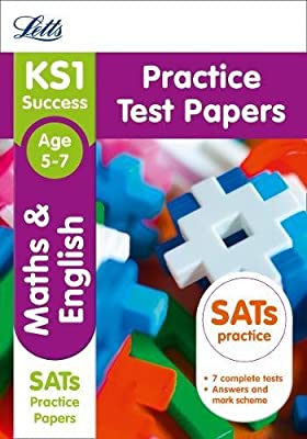 KS1 Maths and English SATs Practice Test Papers: 2019 tests (Letts KS1 Revision Success) (Letts KS1 SATs Success) by Letts