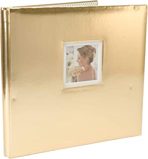K&Company 30-706460 Foil Post Bound Window Album 12
