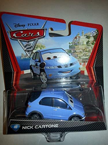Disney Pixar Cars 2 Nick Cartone # 46 - Voiture Miniature Echelle 1:55