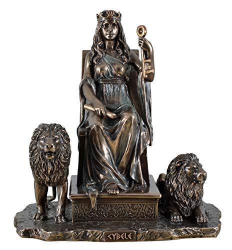 Unbekannt Veronese 708-7364 Figur Cybele griechiche Mutter der Götter 19 cm Skulptur Zeus