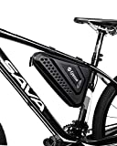 Epessa Bicycle Bike Storage Bag Triangle Saddle Frame Pouch for Cycling|Hard Housing Waterproof|Capacity 2.5L