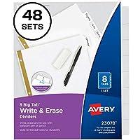 Avery インデックス Big Tab 書いて消せる 48-Pack