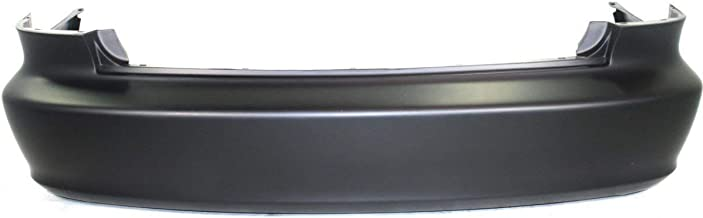 MBI AUTO - Painted to Match, Rear Bumper Cover Replacement for 1998-2002 Honda Accord Sedan 98-02, HO1100184