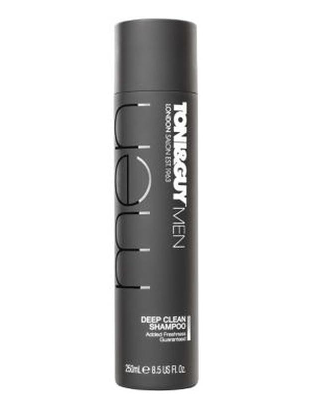 許可スーダンまともなトニ&男男性の深いきれいなシャンプー250ミリリットル (Toni & Guy) (x2) - Toni&Guy Men Deep Clean shampoo 250ml (Pack of 2) [並行輸入品]