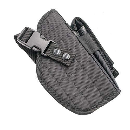 Amont Funda para Pistola y Cargador Airsoft P0166 de Color Negro