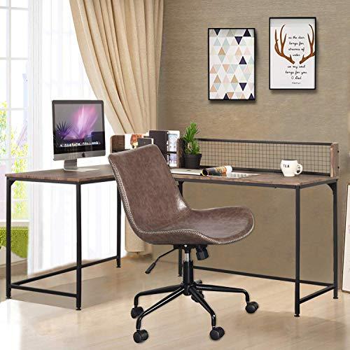 GreenForest L Shaped Corner Desk, 65