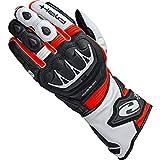 Held Motorradhandschuhe lang Motorrad Handschuh Evo-Thrux II Sport Handschuh schwarz/rot 9, Herren, Sportler, Ganzjährig, Leder