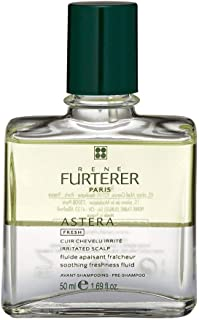 Rene Furterer ASTERA FRESH Soothing Freshness Fluid, Pre-Shampoo Detox, Irritated & Itchy Scalp, 1.6 oz.