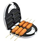 EYOBE Waffeleisen Elektrische Backform Hot Dog Hersteller Schwarz