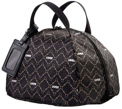 UVEX Helmtasche, schwarz/braun, one size