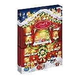 Calendario dell'Avvento Lindt Orsetto: 24 Cioccolatini di Finissimo Cioccolato al Latte, 172g