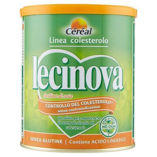 Lecinova Lecitina di Soia non OGM- Controllo del Colesterolo - barattolo 250 gr