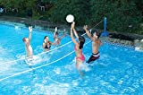 Molded Cross Pool I.G. Volleyball by Swimline