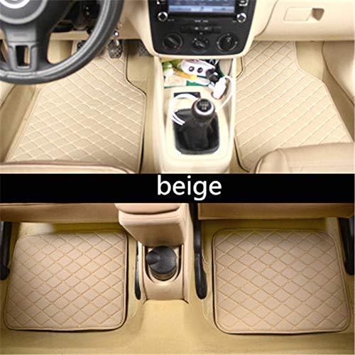 WHJIXC Für Mini Cooper R50 R52 R53 R56 R57 R58 F55 F56 F57 Countryman R60 F60, Auto Bodenmatte Autozubehör Styling Autoteppich