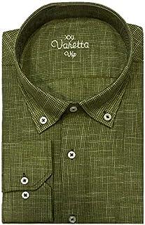 Varetta Büyük Beden Desenli Pamuklu Gömlek