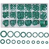 Dokpav Juego de aros tóricos, 270PCS 18 tamaños goma juntas tóricas Kit, aislamiento junta arandela, juntas tóricas para coche Auto reparación de vehículos Aire acondicionado