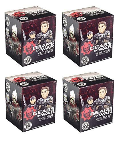 Gears of War Mystery Minis: Juego de 4 cajas ciegas de Funko (el contenido varía)