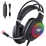 ABKONCORE Gaming Headset for PS4, PC, Laptop,...