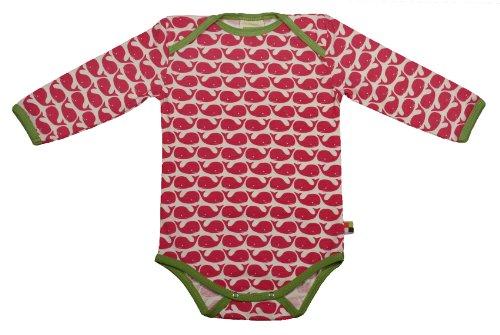 Loud + Proud Unisex - Baby Body 202, Gr. 50/56, Pink (Rosenrot )